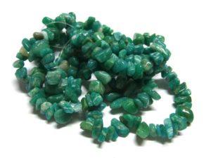 Amazonit Perlen Splitterkette