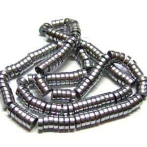 Hämatit Perlen Strang 15730 Scheiben 6 mm