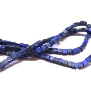 Lapis Lazuli Perlen Strang 15747