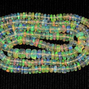 Welo Opal Perlen Strang 15818