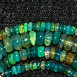 Welo Opal Perlen Strang 15819
